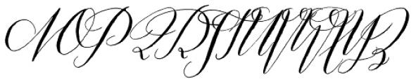 Prosciutto Half Font UPPERCASE