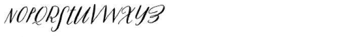 Prosciutto Half Font LOWERCASE