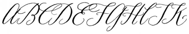 Prosciutto Mixed Font UPPERCASE