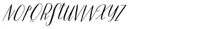 Prosciutto Swash Font LOWERCASE