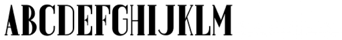 Prospect Heights Solid JNL Font UPPERCASE