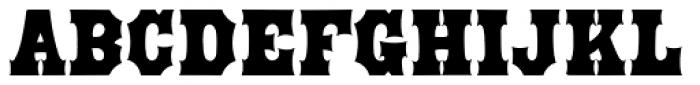 Prospect Modern Font UPPERCASE