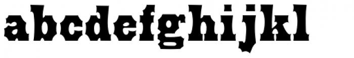 Prospect Modern Font LOWERCASE
