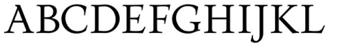 Prospero Pro Font UPPERCASE