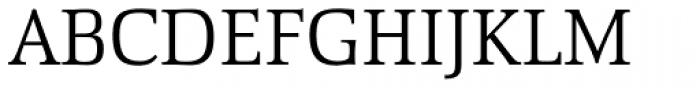 Proteus Light Font UPPERCASE