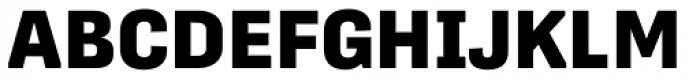 Protipo Extrabold Font UPPERCASE