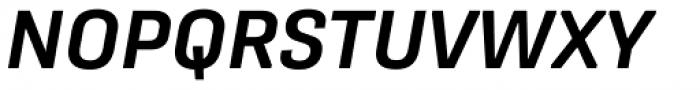 Protipo Semibold Italic Font UPPERCASE