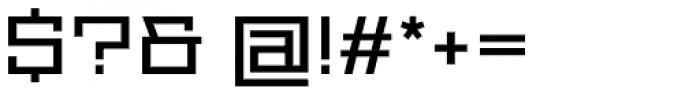 Proto Sans 14 Font OTHER CHARS