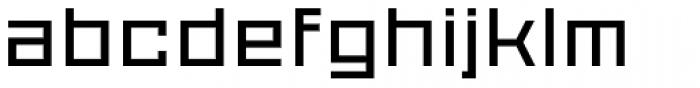 Proto Sans 14 Font LOWERCASE