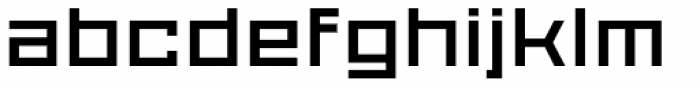 Proto Sans 25 Font LOWERCASE