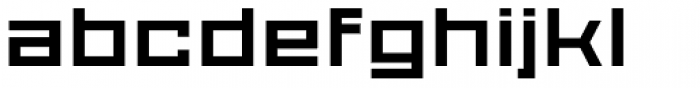 Proto Sans 36 Font LOWERCASE