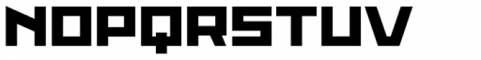 Proto Sans 54 Font UPPERCASE