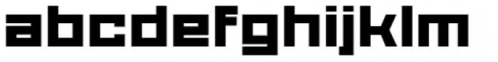Proto Sans 54 Font LOWERCASE