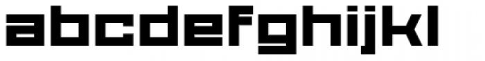 Proto Sans 56 Font LOWERCASE