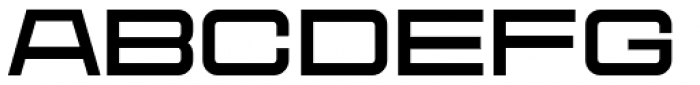 Protrakt Variable Bold-Exp-Two Font LOWERCASE