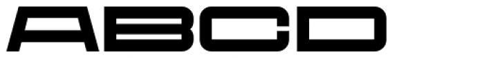 Protrakt Variable Heavy-Exp-Four Font UPPERCASE