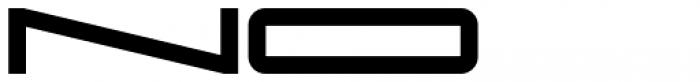 Protrakt Variable Heavy-Exp-Nine Font UPPERCASE