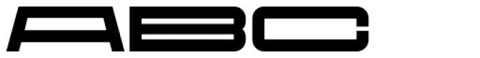 Protrakt Variable Heavy-Exp-Six Font UPPERCASE