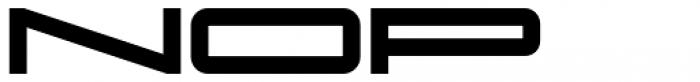 Protrakt Variable Heavy-Exp-Six Font LOWERCASE