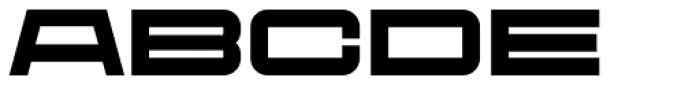 Protrakt Variable Heavy-Exp-Three Font UPPERCASE