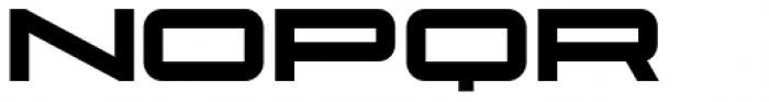 Protrakt Variable Heavy-Exp-Three Font LOWERCASE