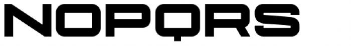 Protrakt Variable Heavy-Exp-Two Font UPPERCASE