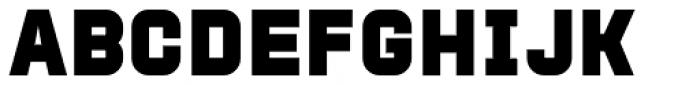 Protrakt Variable Heavy Font LOWERCASE