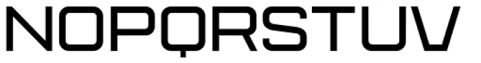 Protrakt Variable Semi-Bold-Exp-One Font UPPERCASE