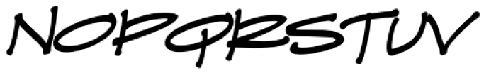 Prov Architect NDP Italic Font UPPERCASE