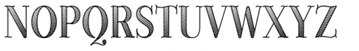 Provincial Shaded Font UPPERCASE