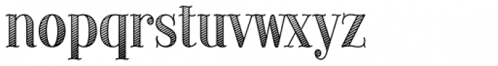Provincial Shaded Font LOWERCASE