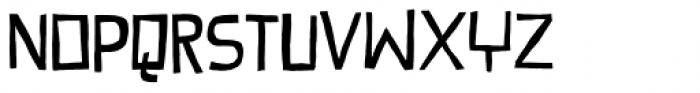 Provokateur Font LOWERCASE