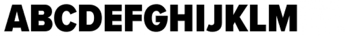 Proxima Nova A Cond Black Font UPPERCASE
