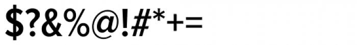 Proxima Nova A Cond SemiBold Font OTHER CHARS