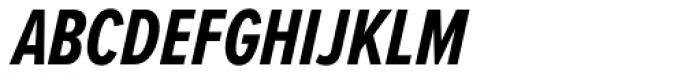 Proxima Nova A ExtraCond Bold Italic Font UPPERCASE