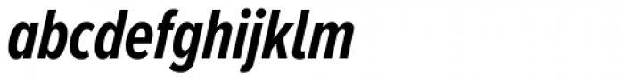 Proxima Nova A ExtraCond Bold Italic Font LOWERCASE