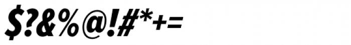 Proxima Nova A ExtraCond ExtraBold Italic Font OTHER CHARS
