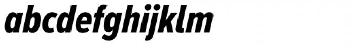 Proxima Nova A ExtraCond ExtraBold Italic Font LOWERCASE