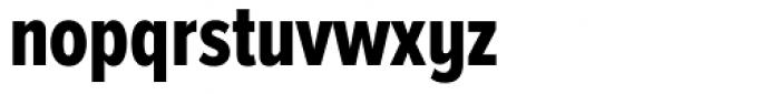 Proxima Nova A ExtraCond ExtraBold Font LOWERCASE