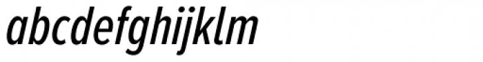 Proxima Nova A ExtraCond Medium Italic Font LOWERCASE