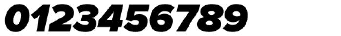 Proxima Nova Black Italic Font OTHER CHARS