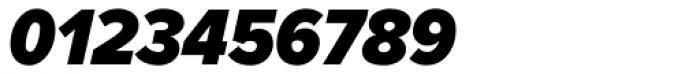 Proxima Nova Cond Black Italic Font OTHER CHARS