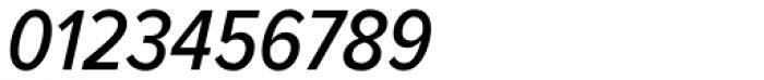 Proxima Nova Cond Medium Italic Font OTHER CHARS