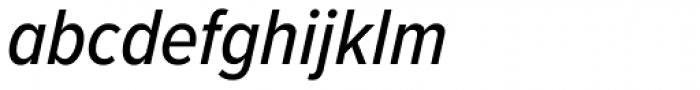 Proxima Nova Cond Medium Italic Font LOWERCASE