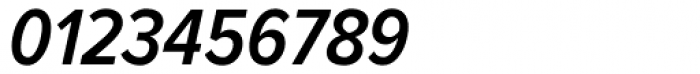 Proxima Nova Cond SemiBold Italic Font OTHER CHARS