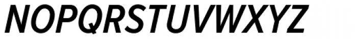 Proxima Nova Cond SemiBold Italic Font UPPERCASE