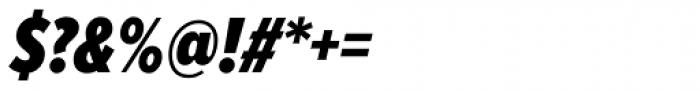 Proxima Nova ExtraCond Black Italic Font OTHER CHARS