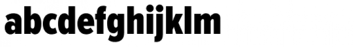 Proxima Nova ExtraCond Black Font LOWERCASE