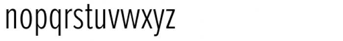 Proxima Nova ExtraCond Light Font LOWERCASE