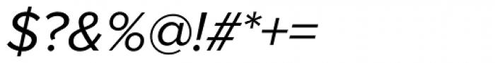Proxima Nova Italic Font OTHER CHARS